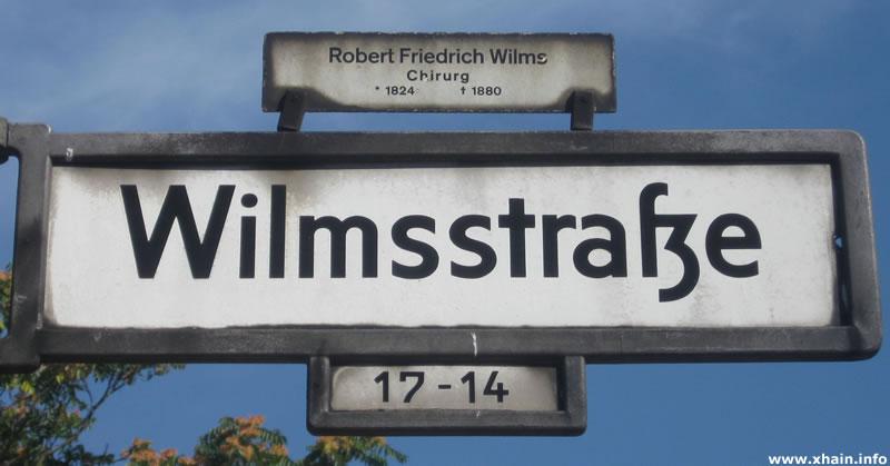 Wilmsstraße
