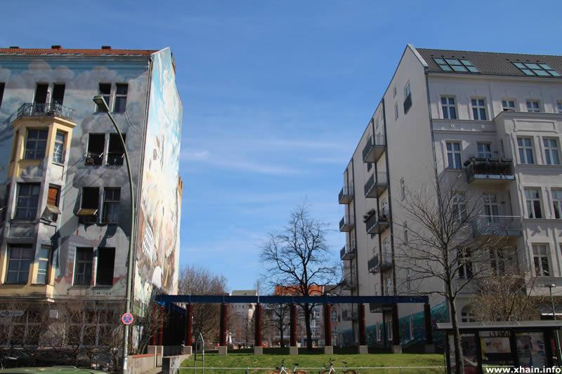Durchgang Wilhelmstraße / Theodor-Wolff-Park