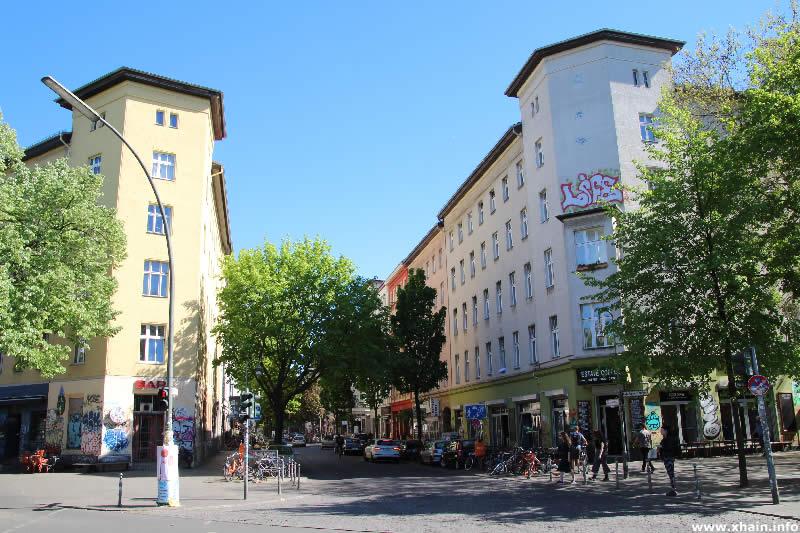 Wrangelstraße Ecke Lübbener Straße