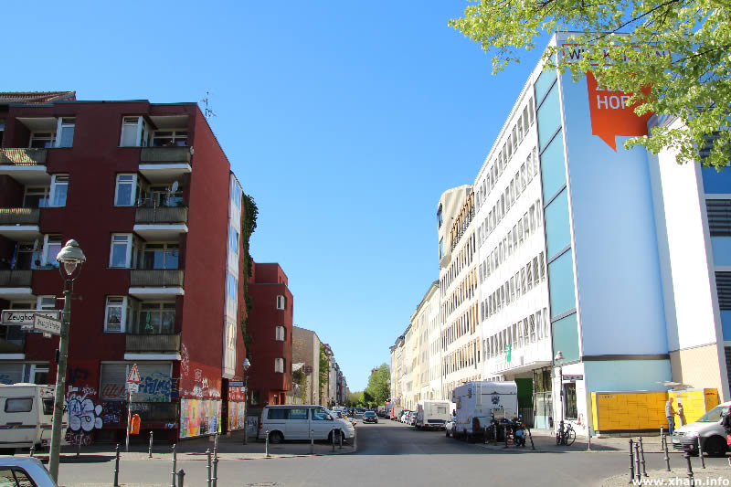 Wrangelstraße Ecke Zeughofstraße