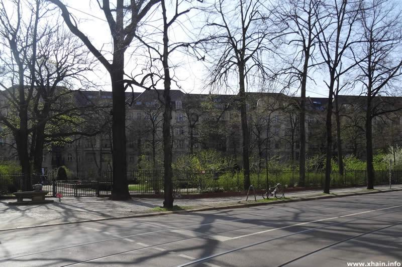 Wühlischplatz an der Wühlischstraße