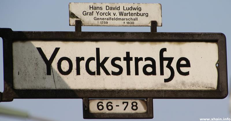 Yorckstraße