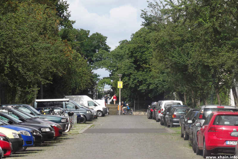 Zellestraße, Blickrichtung Forckenbeckplatz