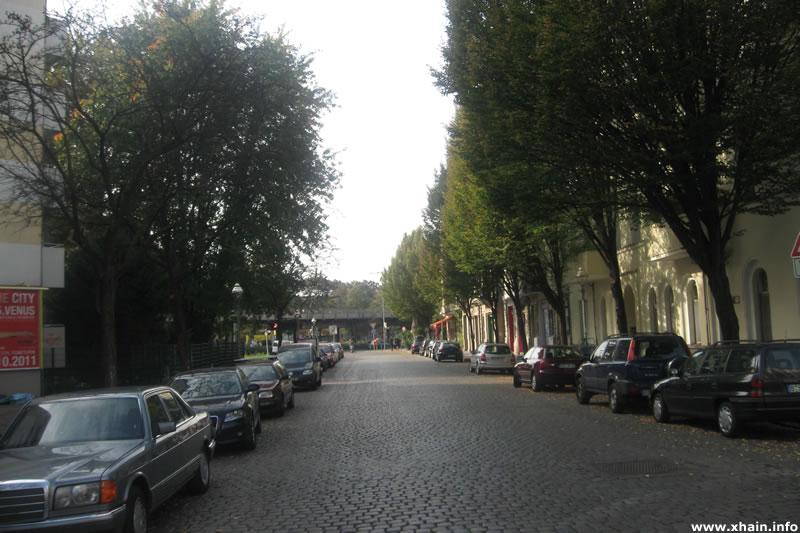 Zeughofstraße, Blickrichtung Skalitzer Straße