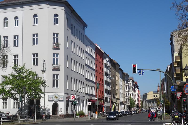 Zossener Straße Ecke Gneisenaustraße